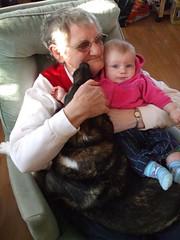 Grandma Janet, Flora and Leia