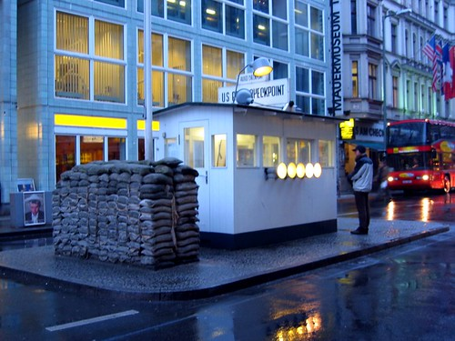 Checkpoint Charlie (a copy of the original).