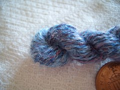 First Laceweight Handspun