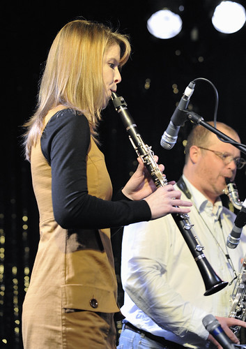 Katherine Smith -Clarinet, Alex Millier -Bass Clarinet