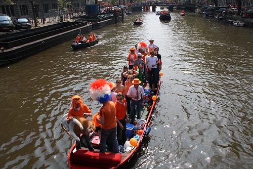 Barco laranja