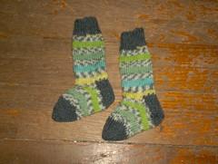 Spring Stripe Baby Socks