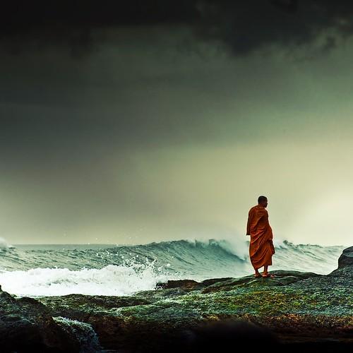 Cuba Gallery: Storm / wave / landscape / sea / ocean / sky / man / portrait / splash / photography