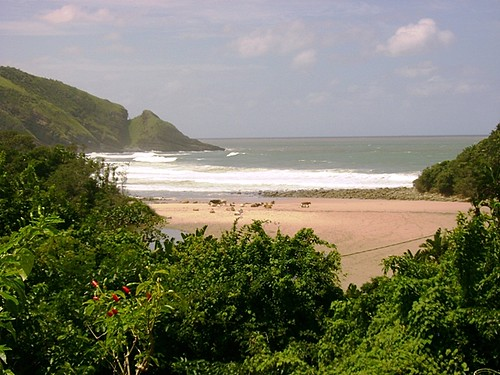 2nd Beach view from Delicious Monster (Port St Johns)