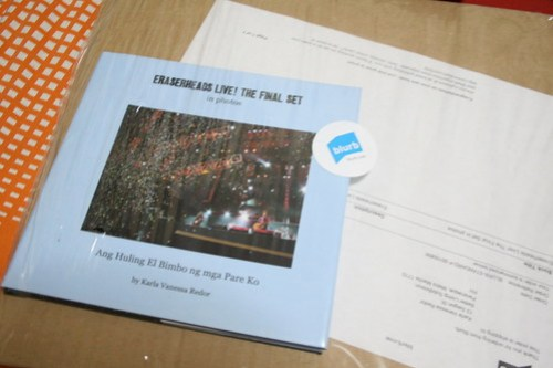 My Eraserheads Live Custom Photo Book