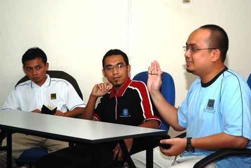 Sesi yang menjana banyak perbincangan dan perkongsian pengalaman.