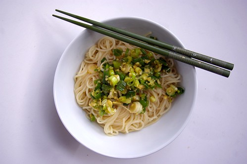 Ginger-Scallion Noodles