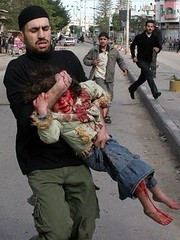 'Some terrorists have been injured and will not be able to keep terrifying Israel by freegazaorg