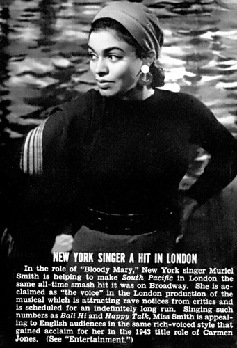 New York Singer A Hit in London  - Jet Magazine, March 6, 1952 by vieilles_annonces.