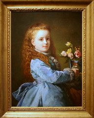 Portrait of Wharton as a child.