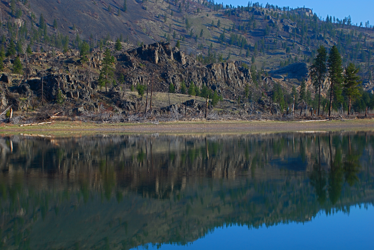 Morning on the Flathead river