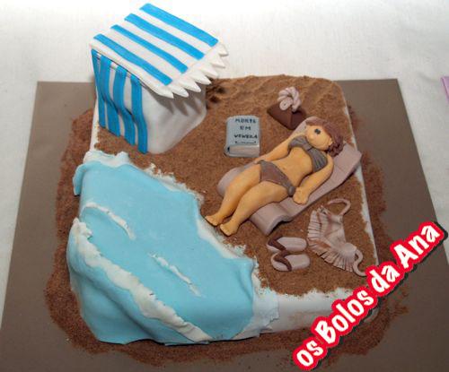 Bolo dia de Praia - Beach day cake
