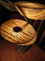 Circles Within Circles, 1950s lamp at the Riverview Theater, Minneapolis, Minnesota, August 2007, photo © 2007-2009 by QuoinMonkey. All rights reserved.