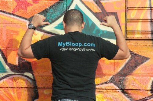 Geekshirt #18 - Sick PWNAGE! - MyBloop.com (back)