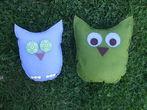 Big-Eyed Owl and his baby-friendly cousin