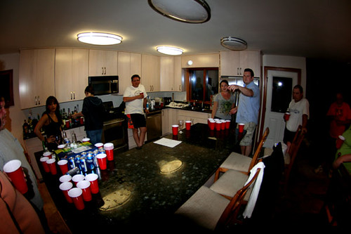 Family Beer Pong