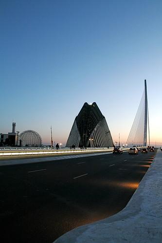 Bridge in Valencia