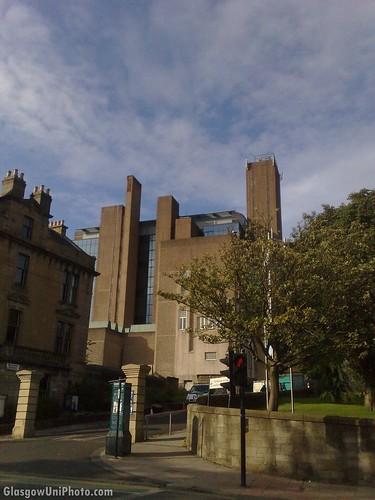 University Library from University Avenue