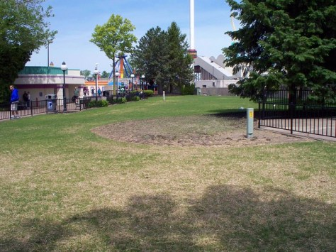 Cedar Point - Old Demon Drop Location