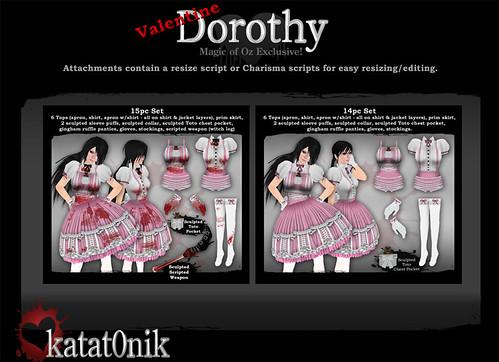 Valentines Dorothy Sets