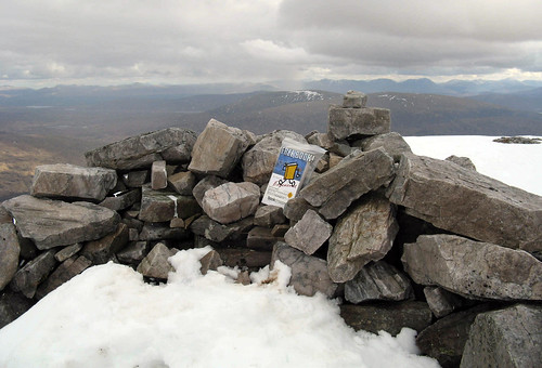 Bookcrossing on Stob Coire Easain