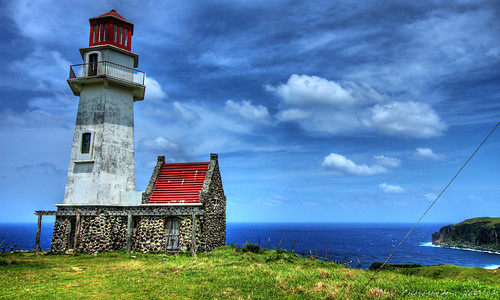 Image of the Mahatao Light House in the Batanes island
