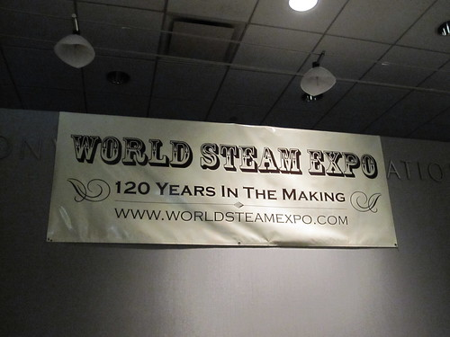 World Steam Expo banner