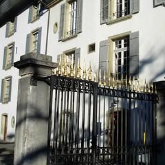 Eingangstor zur Münsterterasse