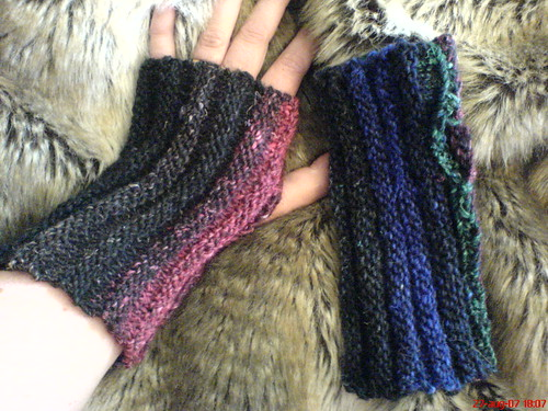 * On to the knit items - the colors are so pretty, even a more simple pattern looks stunning!