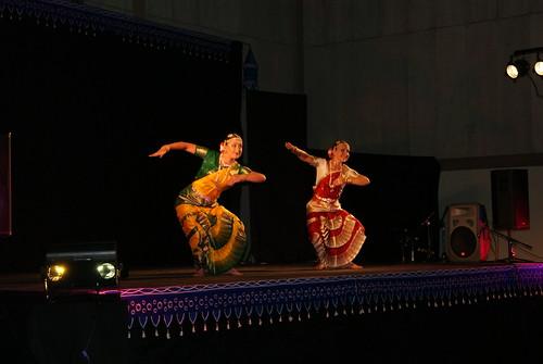 The heavenly dance - Bharatanatyam