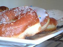 Donuts at Genomics Cafe