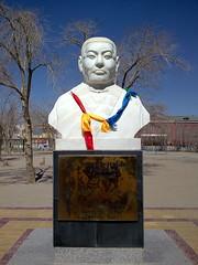 Danzan Ravjaa Statue, outside Danzan Ravjaa Mu...