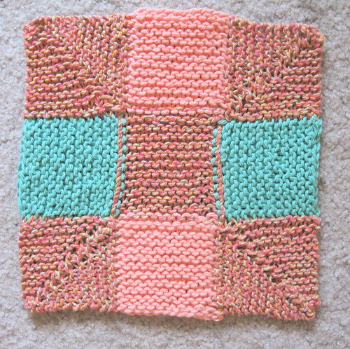 Ninepatch dishrag