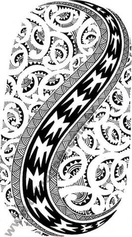 Tattoo Maori Polinesia kirituhi