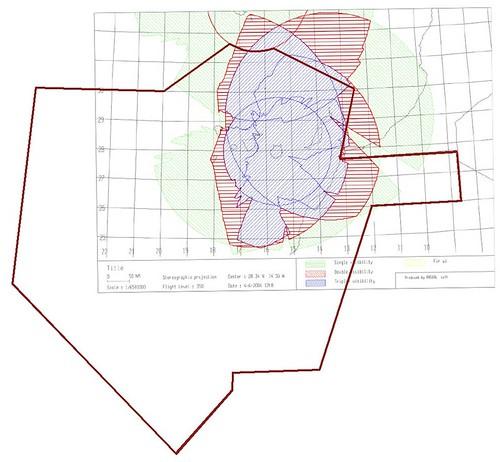 Mapa cobertura radar