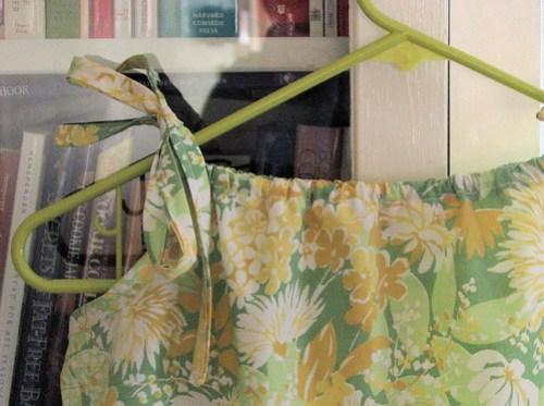Pillowcase dress detail