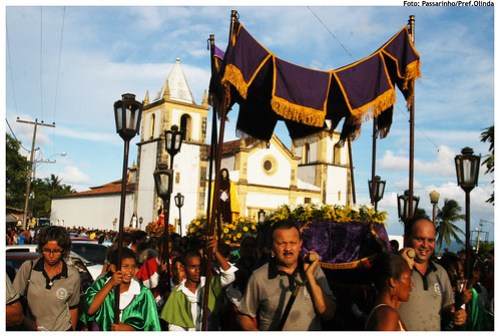 Procissão do Senhor Morto. Foto: Passarinho/Pref.Olinda