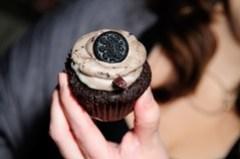 An Oreo f-ing cupcake.