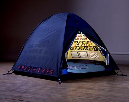 tracey emin's tent