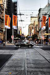 Bourke St, Melbourne