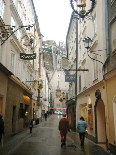 The Walking Street of Salzburg