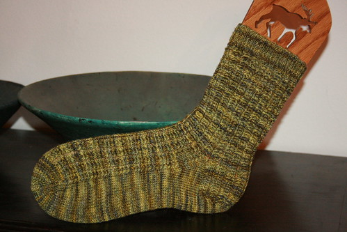 Cornrow sock.
