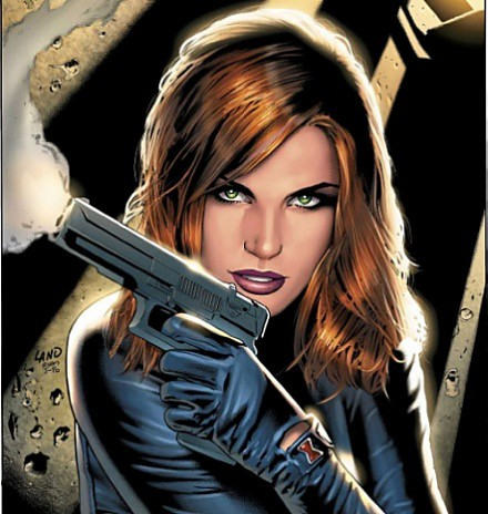Black Widow-Natasha Romanova por ti.