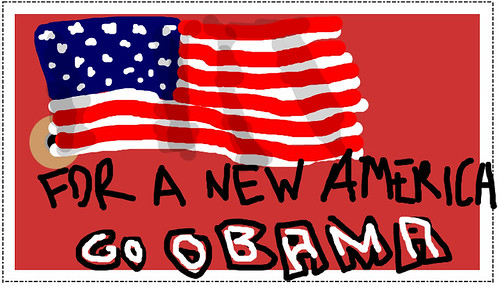 for a new america go obama