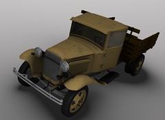 1935 GAZ AA Polutorka Truck