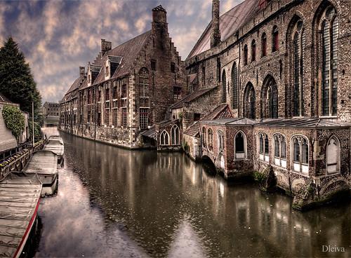 Brugge canal (Belgium)