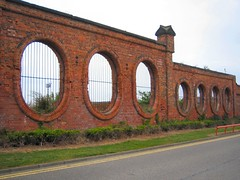 Vulcan Street Wall, Salt Works, Middlesbrough