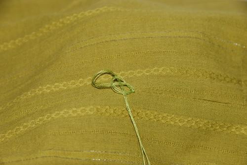 How to make a hand crochet belt loop