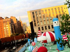 AOL's Rainbow City - West 30th Street @ 10th Avenue