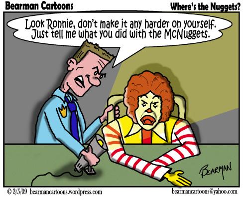3 5 09  Bearman Cartoon McDonald McNuggets copy